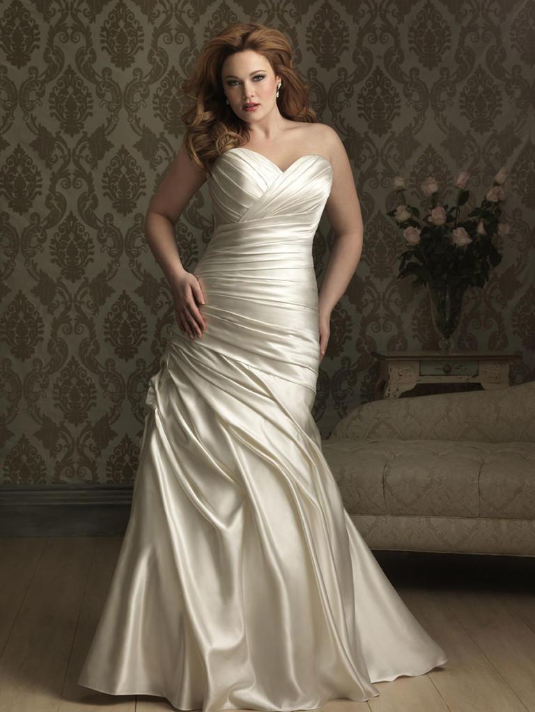 8 fashion style plus size wedding dresses for curve girls