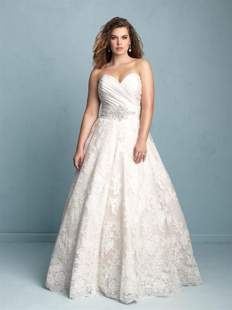 Allure Bridal plus size wedding dresses 08