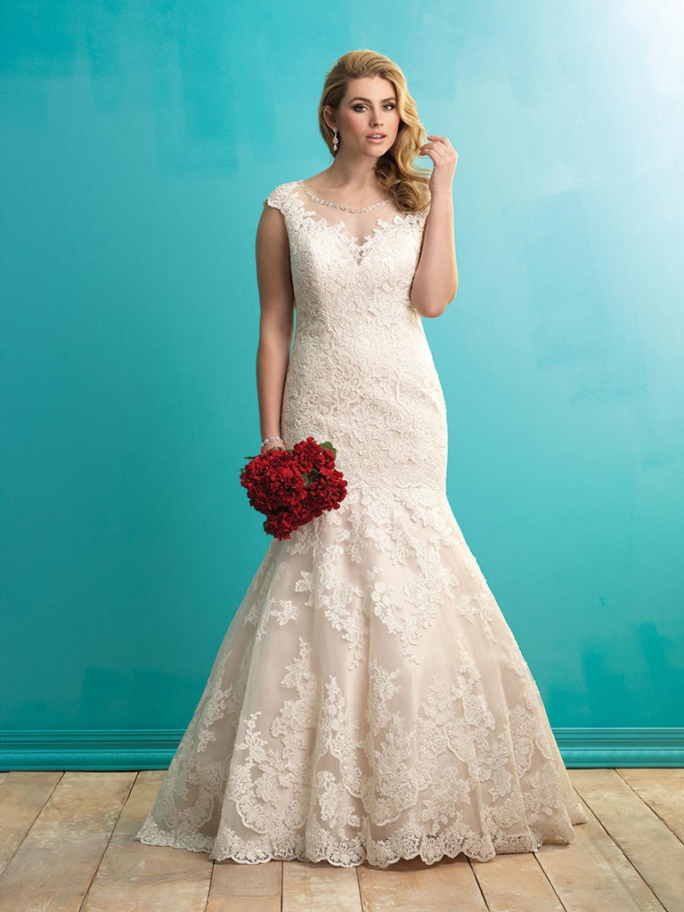 8 fashion style plus size wedding dresses for curve girls 03