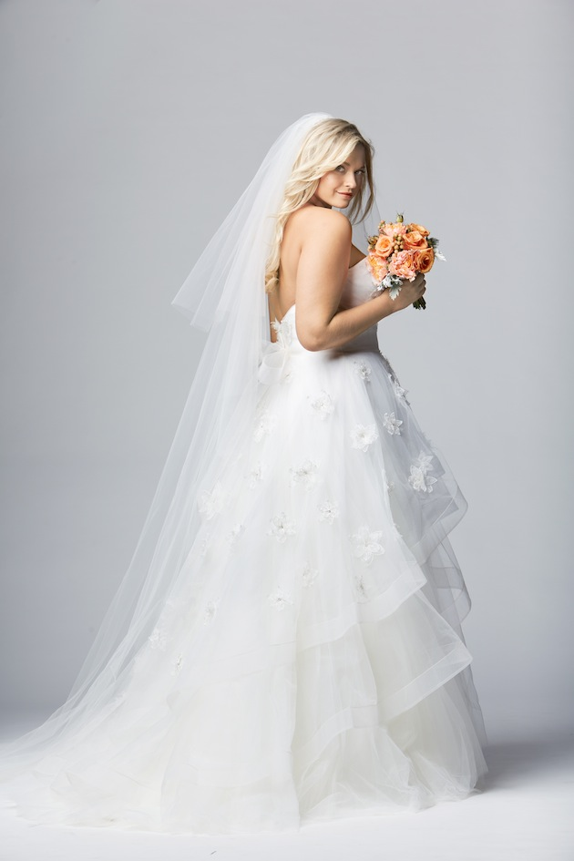 Plus size wedding dresses for curvy girls 11