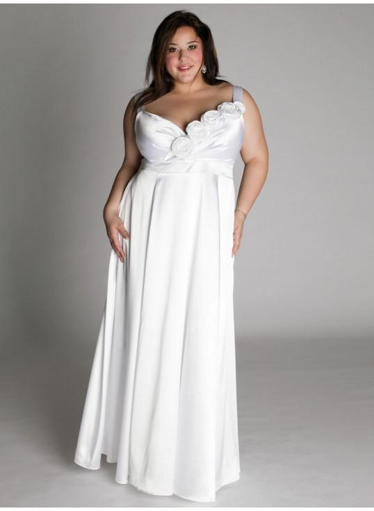 Plus size wedding dresses for curvy girls