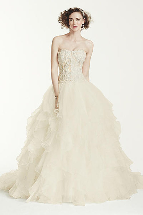 Top10 budget simple wedding dresses 02