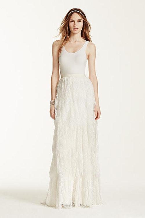 Top10 budget simple wedding dresses 04