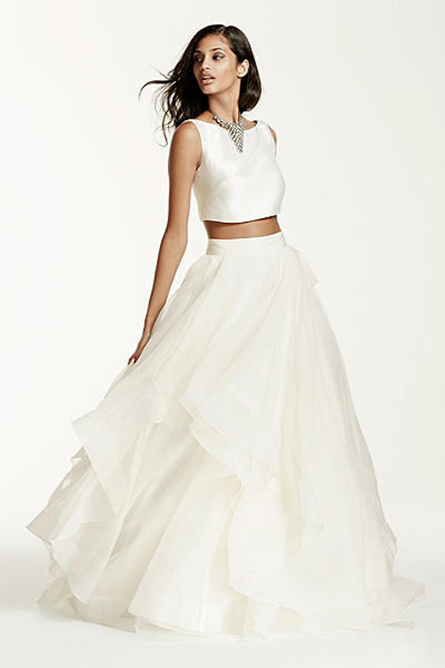 Top10 budget simple wedding dresses 05