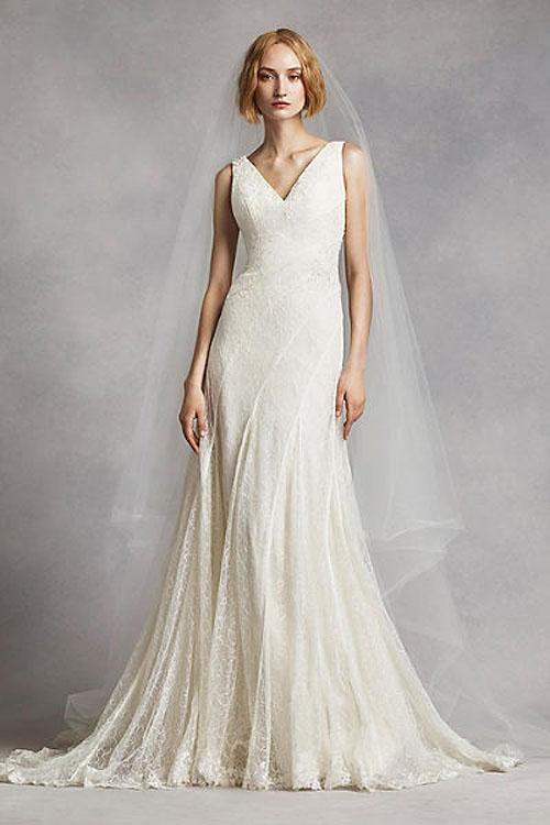 Top10 budget simple wedding dresses 07