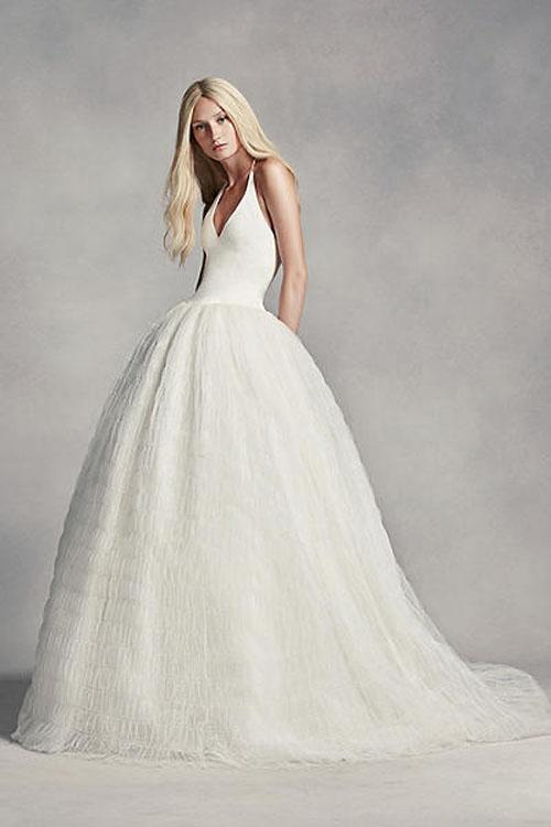 Top10 budget simple wedding dresses 08