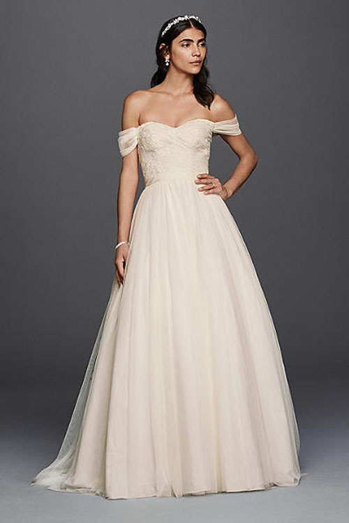 Top10 budget simple wedding dresses 09