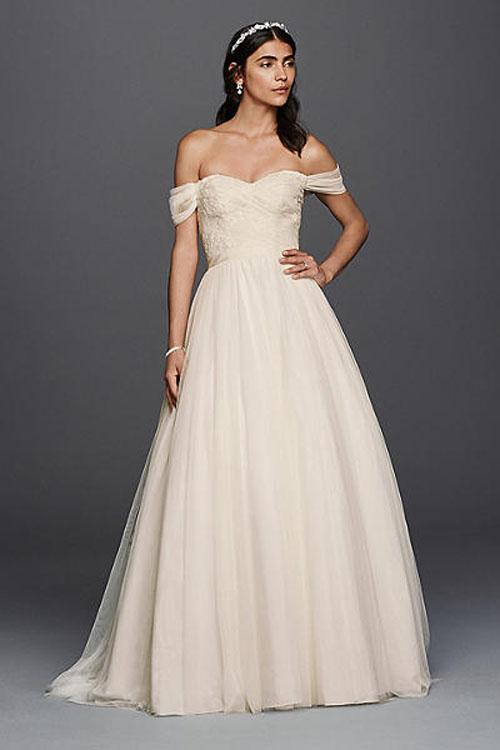 Top10 budget simple wedding dresses 09