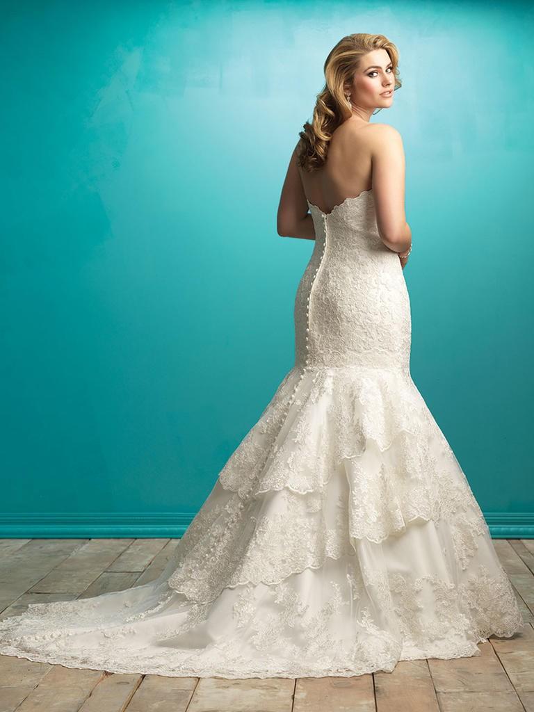 8 fashion style plus size wedding dresses for curve girls 07