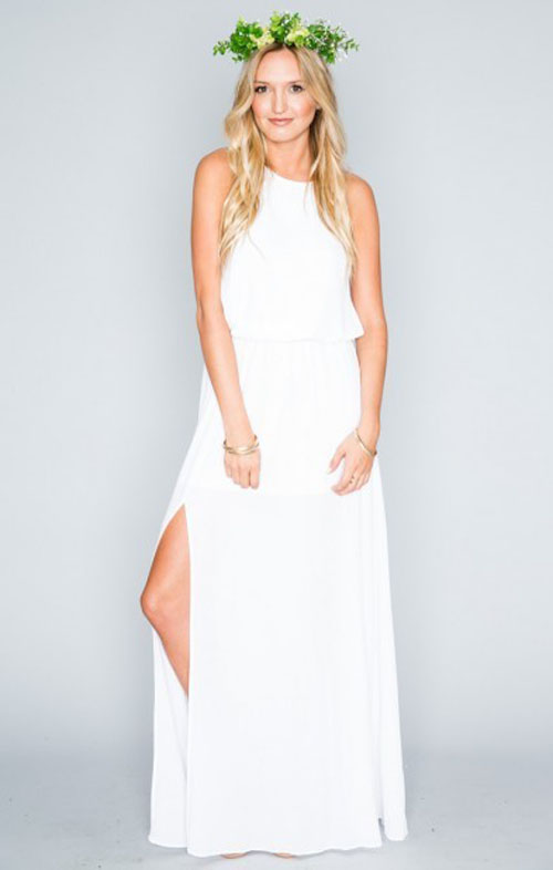 12 cheap ans simple wedding dresses