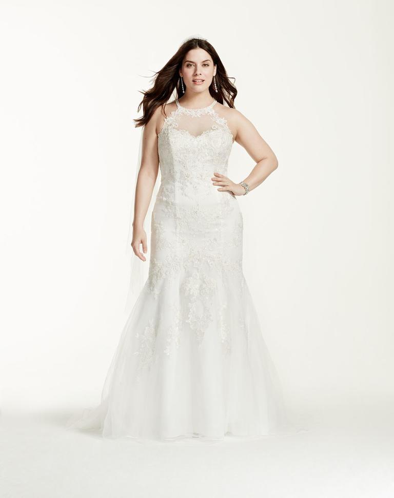 8 fashion style plus size wedding dresses for curve girls 08