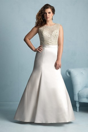 Top10 stunning plus size wedding dresses 03