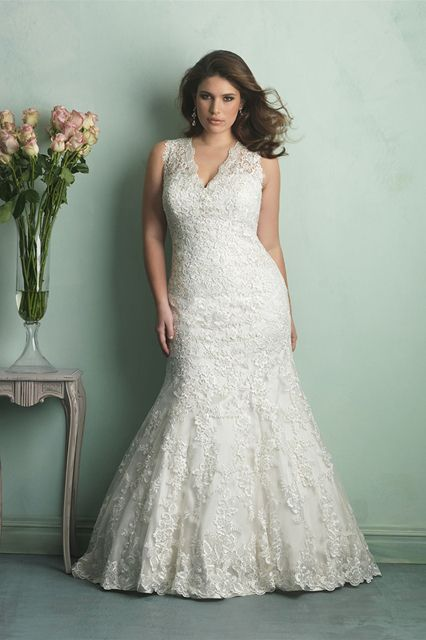 Plus size wedding dresses for curve girl 04