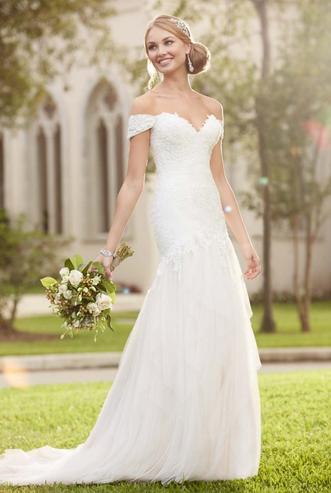 Stella York A-neckline wedding dresses 07