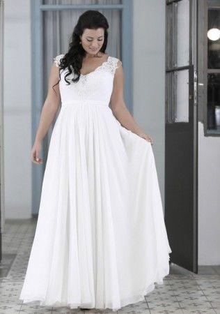 Top5 sexy plus size wedding dresses