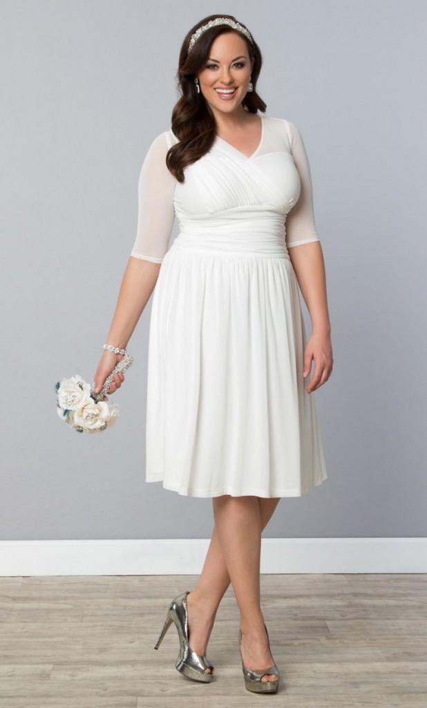6 cheap plus size wedding dresses 04
