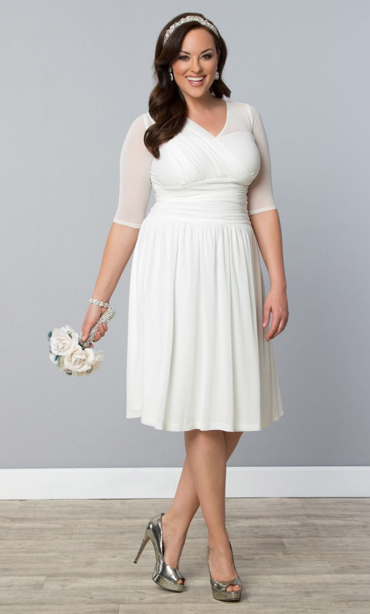6 cheap plus size wedding dresses 04
