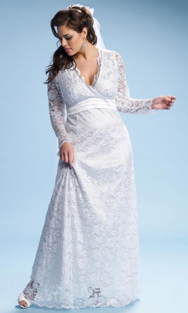 6 cheap plus size wedding dresses 06
