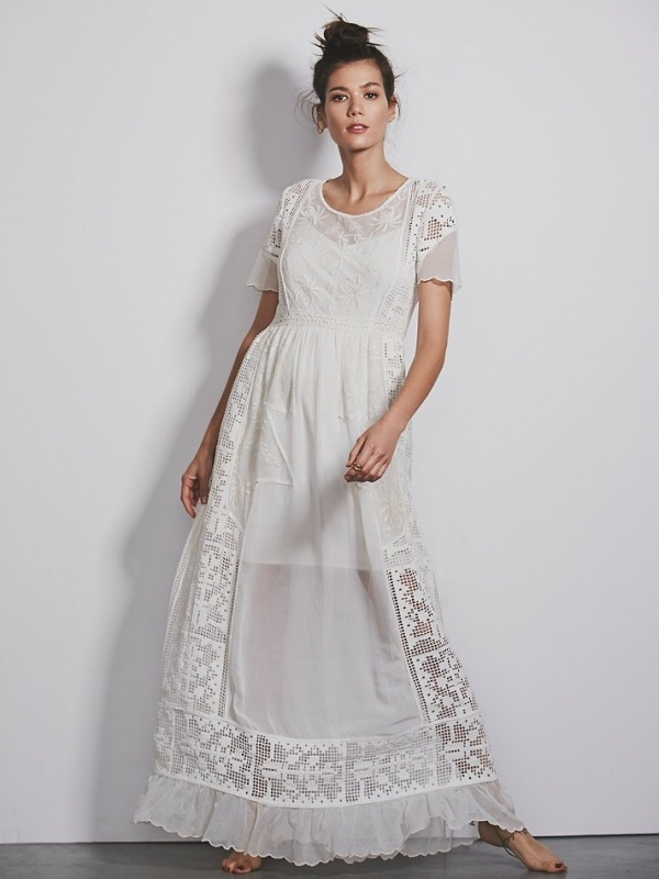 Top15 affordable wedding dresses under $500 14