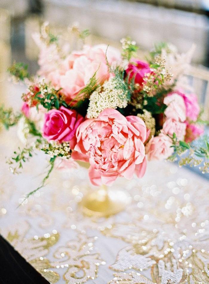 2016 romantic wedding ideas in pink color 03