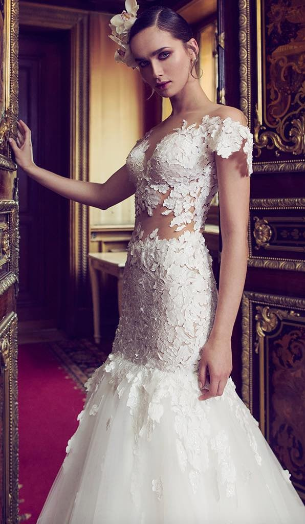 10 striking romantic wedding dresses 06