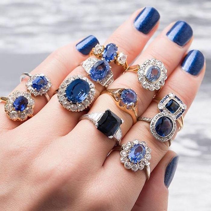 Romantic blue wedding ideas 09
