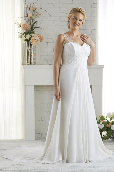 10 elegant plus size wedding dresses