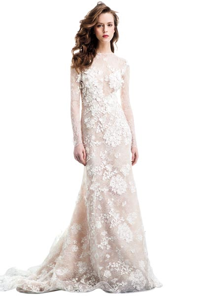 Top10 chic lace wedding dresses 02