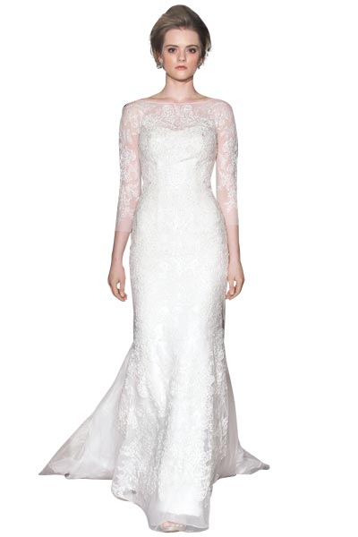 Top10 chic lace wedding dresses 03