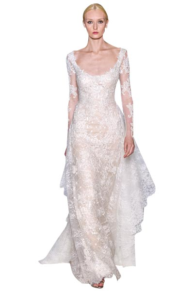 Top10 chic lace wedding dresses 06