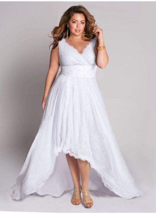10 beautiful plus size wedding dresses