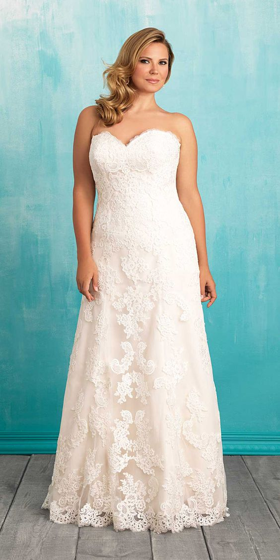 10 beautiful plus size wedding dresses 02