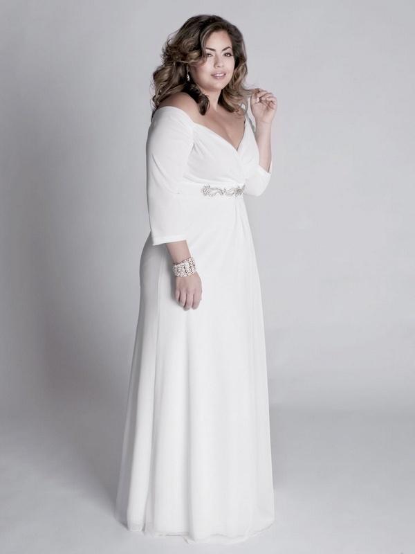 10 beautiful plus size wedding dresses 07