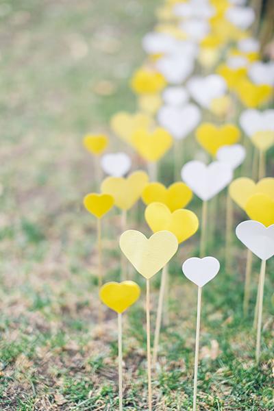 Romantic backyard wedding ideas