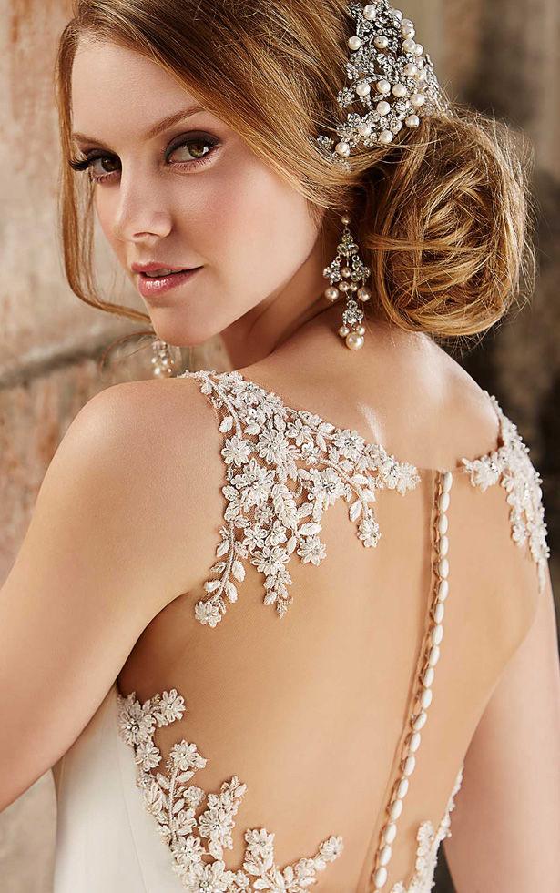 Beautiful hairstyle for elegant bride 06