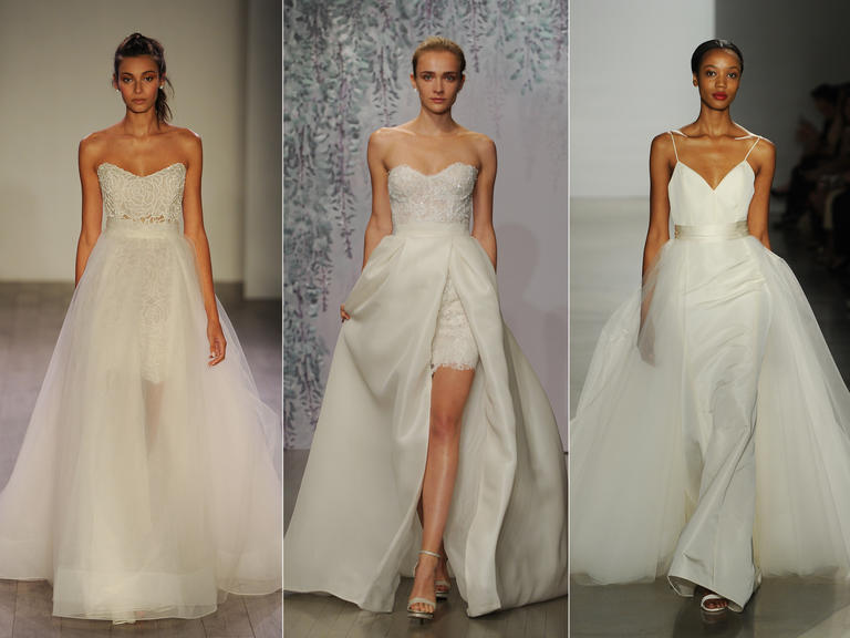 Wedding Dresses With Detachable Skirts