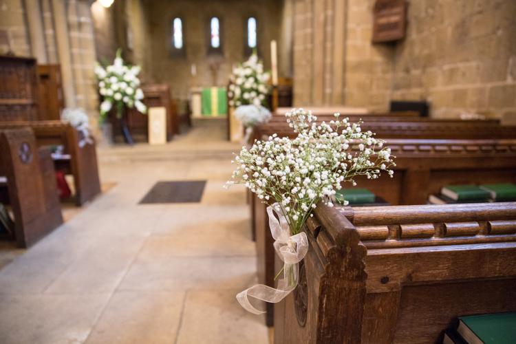 Gyp Gypsophila Baby Breath Bouquet Flowers Pew End Decor Aisle Soft Pink Rustic Boho Wedding http://www.natashacadman.com/