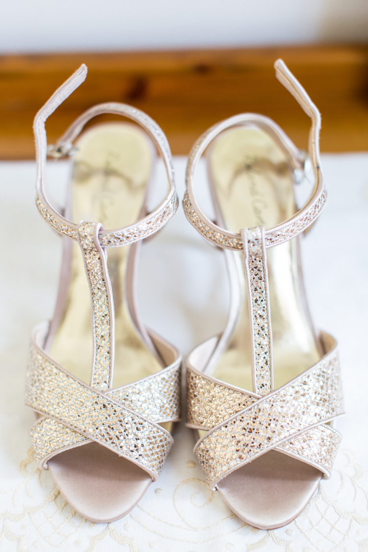 Glitter Shoes Heels Bride Bridal Soft Pink Rustic Boho Wedding http://www.natashacadman.com/