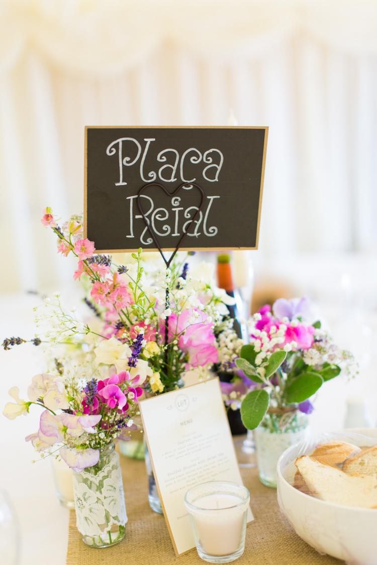 Lace Jar Flowers Centrepiece Table Decor Soft Pink Rustic Boho Wedding http://www.natashacadman.com/