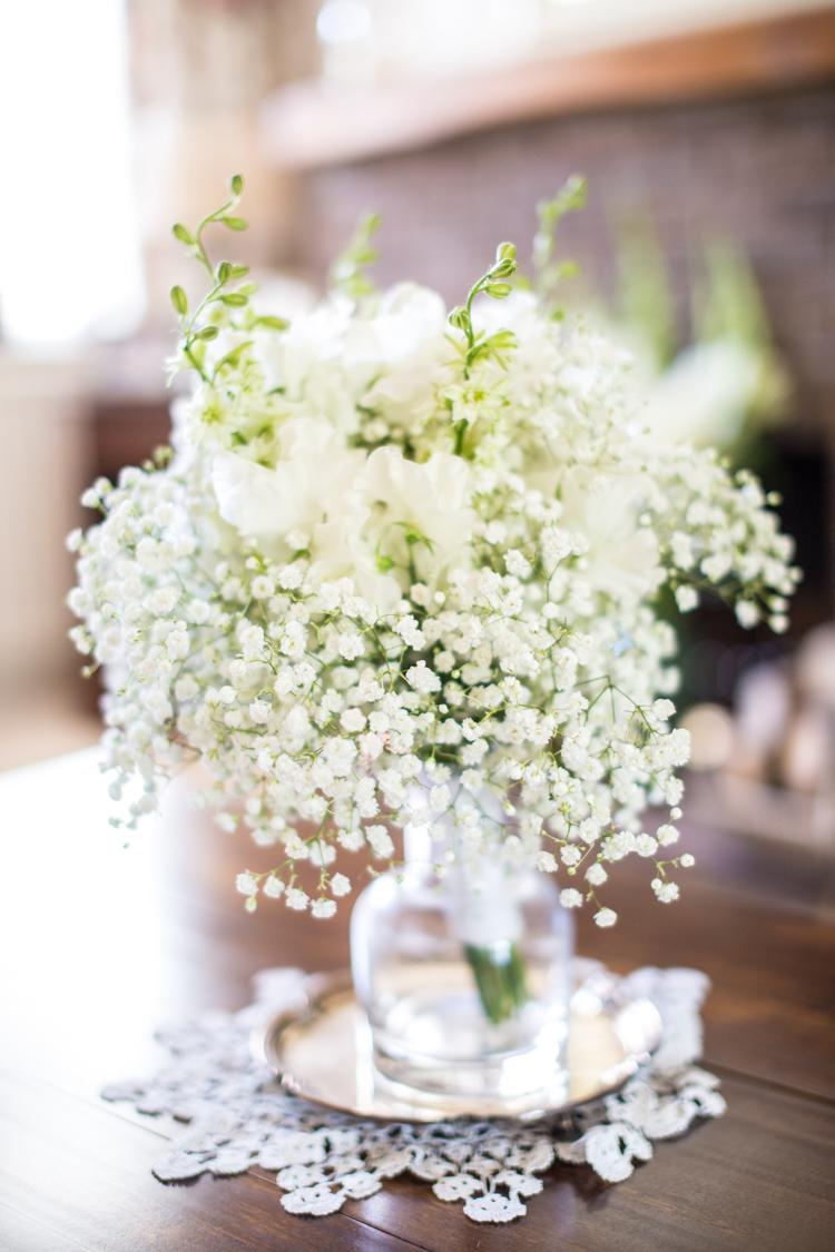 Gyp Gypsophila Baby Breath Bouquet Flowers Bride Bridal Soft Pink Rustic Boho Wedding http://www.natashacadman.com/