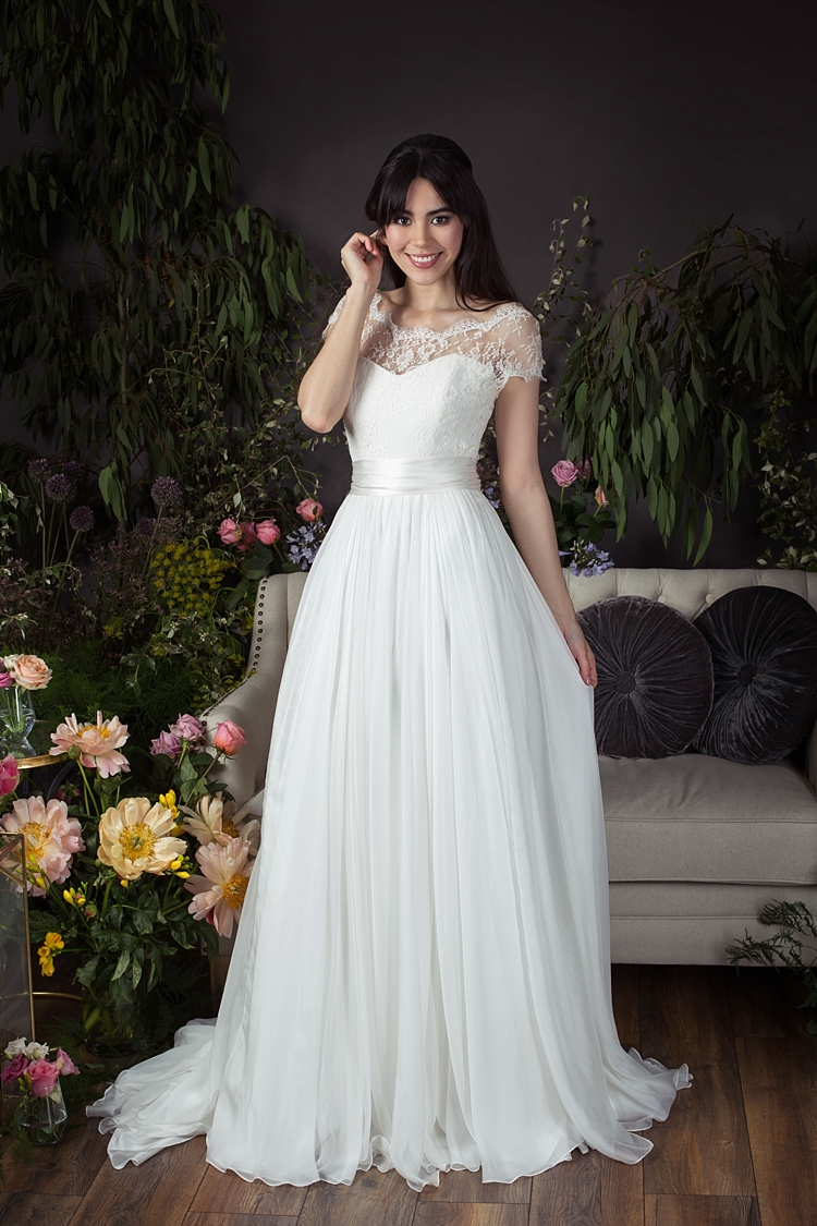 Ayla with Primrose Jacket Naomi Neoh 2017 Eden Wedding Bridal Dress Collection