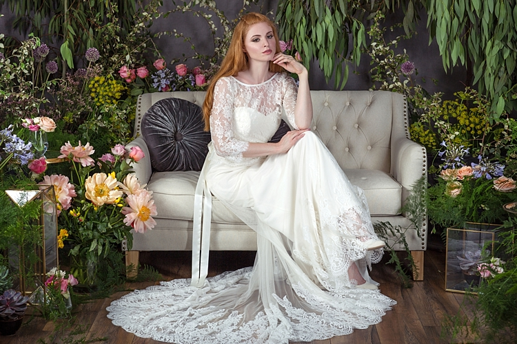 Kayeligh with Esther Top & Silk Sash Naomi Neoh 2017 Eden Wedding Bridal Dress Collection