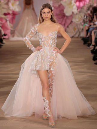 2017 Wedding Dress Trend You Need To Know About: Pastels